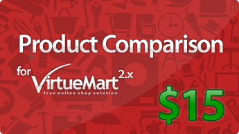 Virtuemart 3 Compare module